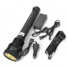 RUSTU Rechargeable 85W Xenon R85 7500lm 5-Mode White Flashlight w/ Cree XR-E Q5 - Black