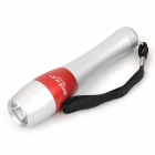 Forest Tiger SLH-H601 Mini 1W Oslon LED 100lm White Flashlight - Silver + Red