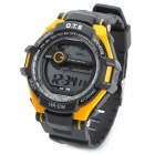 OTS T6936G Sport Outdoor Digital Man's Wrist Watch - Black + Orange (1 x CR2025)