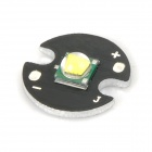 10W 800lm LED Emitter - Black + Silver (16mm / DC 3.6~4.2V)
