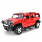 MZ 2026 1:14 Rechargeable 3-CH R/C Hummer Radio Control High Speed Racing Model - Red + Black
