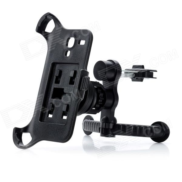 Car Air Outlet Swivel Mount Holder Stand Support for Samsung Galaxy S3 Mini i8190 - Black epman universal aluminum water to air turbo intercooler front mount 250 x 220 x 115mm inlet outlet 3 5 ep sl5046d