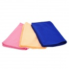 Multifunction Super-thin Fiber Dry Towel for Pets - Multicolored (3 PCS)
