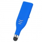 Creative Presse & Push-USB 2.0 Flash Drive w / Stylus Pen - Blue (8GB)