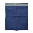 Water Resistant Portable Clothes Shoes Storage Bag - Dark Blue