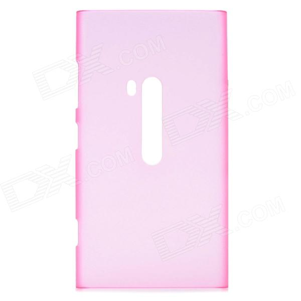 Protective Matte Plastic Back Cover Case for Nokia Lumia 920 - Translucent Pink nillkin protective plastic back case w screen protector for nokia lumia 630 golden