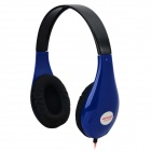 Ditmo DM-4700 Stylish Stereo Headphones - Blue + Black + Red (3.5mm Plug / 120cm)