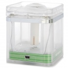 sc012 USB Powered LED Ultrasonic Atomizer / Air Humidifier / Purifier - Transparent