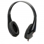 Ditmo DM-4700 Stereo Headset Headphones - Black + Red (3.5mm Plug / 120cm-Cable)