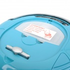 Cleanmate QQ-6 Portable Smart Automatic Vacuum Cleaner w/ Side Brush - Blue (EU Plug / 100~240V)