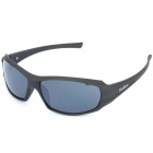 BaoLina 5020 Outdoor Riding Men Resin Lens PC Frame UV Protection Sunglasses / Goggles - Black