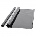 Universal PET Car Automotive Solar Window Film - Black (2 PCS)