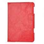 ENK-3303 Protective Soft PU Leather Case w / Winterruhe Funktion für iPad Mini - Red