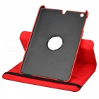 Alligator Pattern Protective 360 Degree Rotation PU Leather Case for Ipad MINI - Red