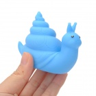 Funny Floating Snail Bath Bathing Toy w/ Colorful Light Effect - Blue (2 x LR626)