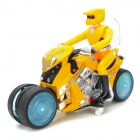 333-933B 40MHz 5-Channel Remote Drifting Motorcycle - Yellow