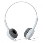 SALAR EM300 Fashion Stereo Headphones - White (3,5 mm Klinkenstecker / 120cm-Kabel)