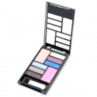 C Style Cosmetic Makeup Powder 6-Eyeshadow + 1-Eyebrush + 2-Blusher Palette Set