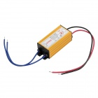 Waterproof 10W Constant Current Source LED Driver - Yellow (AC 85~265V)