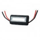 "G.T.Power 130A 2.4"" LCD High-Precision Watt Meter & Power Analyzer for RC Helicopter - Black"