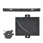 USA License Plate Frame 3-Sensor Car Parking Sensor Kit - Black (10~24V)
