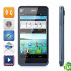 "ZTE U950 Android 4.0 TD-SCDMA Bar Phone w/ 4.3"" Capacitive Screen, Wi-Fi and GPS - Deep Blue"