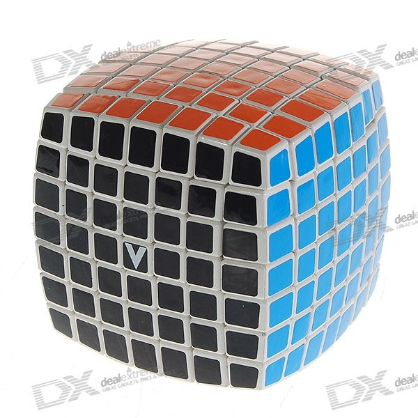 Genuine V-Cube 7 7x7x7 Brain Teaser Magic IQ Cube
