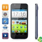 "ZTE V955 Android 4.0 WCDMA Bar Phone w/ 4.5"" Capacitive Screen, Wi-Fi, GPS and Dual-SIM - Dark Blue"