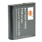 DSTE NP-BG1 1750mAh Battery for Sony Cyber-shot DSC-H20 H3 H7 - Black
