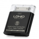 30-Pin Male TF / SD Card Reader for Samsung P7500 / P7510 / P7300 / P6800 / P6200 / P3100 - Black
