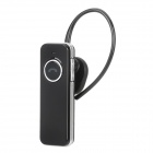 X-V2 Bluetooth v2.1 Handsfree Stereo Headset - Black + Silver (4 Hours-Talk)