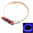 4.5W 180lm 45-1210 SMD LED Blue Light Flexible Strip Lamp (12V / 45cm)