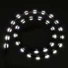 3.6W 6000K 144lm 30-SMD 0630 Cold White Soft Flexible Lamp Strip