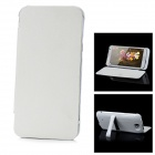 4000mAh Protective External Battery Charger Case w/ Holder for Samsung N7100 - White