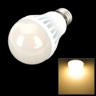 E27 7W COB LED 900lm 3500K Warm White Light Bulb (110~220V)