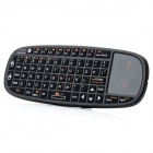 RII i10 Mini Wireless Bluetooth 66-Key Keyboard Mouse Presenter Combo w/ Laser Light for HTPC / Ipad