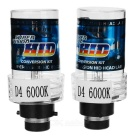 D4S 3.5W 6000K 3200lm White Super Version HID Xenon Headlamps (2 PCS / 12~24V)