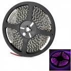 DT5M3528600P Waterproof 36W 2400lm 600-SMD 3528 LED Pink Light Strip - Black (DC 12V)