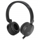 EASDA DWH160 Rechargeable 2.4GHz High Fidelity Stereo Headphones w/ Microphone - Black