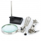Precision Electronics Soldering Station with 5X~8X Magnifier