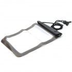 Protective PVC Waterproof Bag w/ Strap for iPad Mini - Black