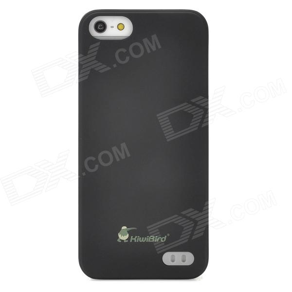 KS-02 Dual SIM Card + Protective Case for Iphone 5 - Black