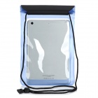 "Stylish Protective PVC Waterproof Bag w/ Strap for 8"" Ipad MINI - Blue"