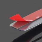 Universal Auto Car Rear View Mirror antipluie lame w / Outlet - Transparent (2 PCS)