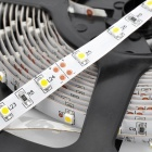 24W 2400lm 3300K LY118 300-SMD 3528 LED Warm White Light Strip Flexible Light - (DC 12V / 500cm)