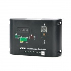 12V / 24V 20A Solar Powered Charging Controller - Black