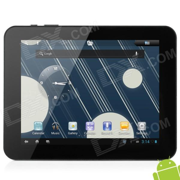 "AMPE A86 8"" Capacitive Screen Android 4.1 Dual Core Tablet PC w/ TF / Wi-Fi / Camera / HDMI - Black"