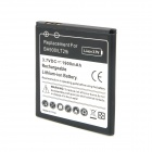 Replacement 3.7V 1900mAh Li-ion Battery for Sony Ericsson TX LT29i / BA900 - Black + White