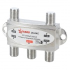 JASEN JS-04C 4 x 1 Satellite DiSEqC Switch - Silver