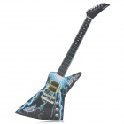 Y5756024 Enlightenment Air Touch Music Guitar - Black + Blue + White (3 x AAA)